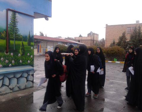 اعزام دانش آموزان به مرحله شهرستانی مسابقات قرآنی